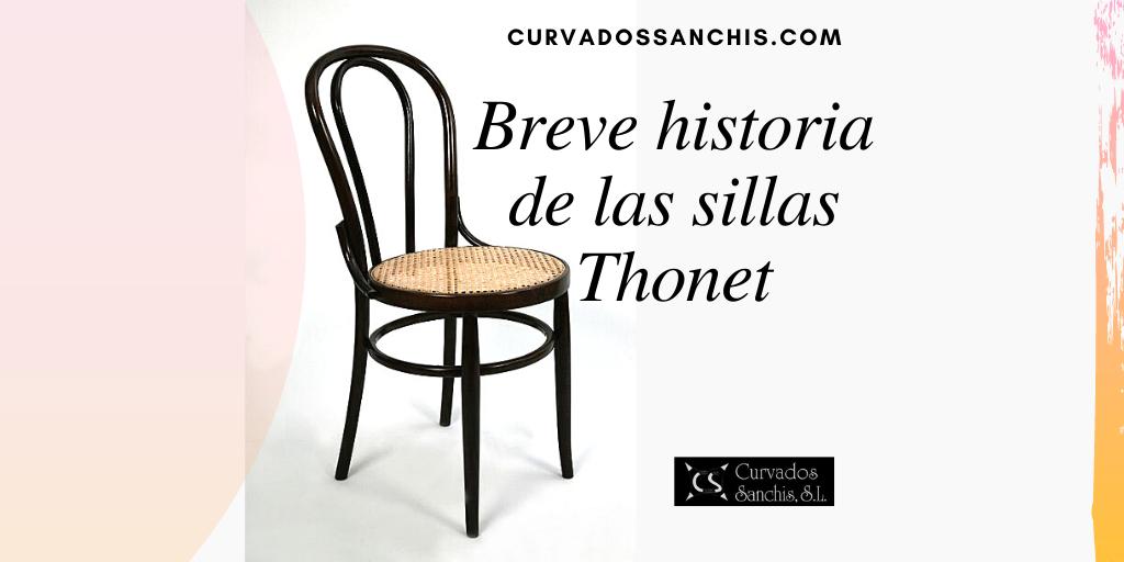 Sillas Thonet, un mueble histórico